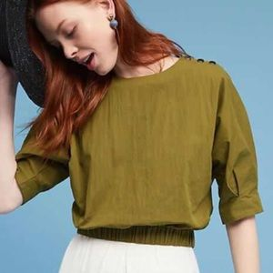 Anthropologie Tops - J.O.A. Paola Banded Top